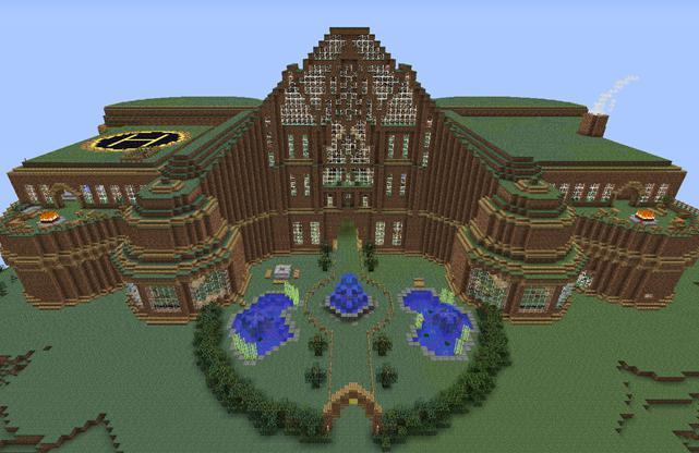 красивые дома в майнкрафт фото